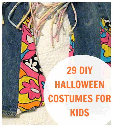 DIY kid Halloween Costumes CRAFT