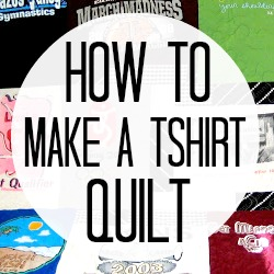How to make a t-shirt quilt C.R.A.F.T.
