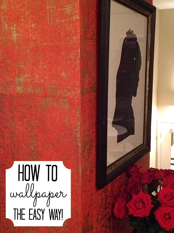 How to wall paper