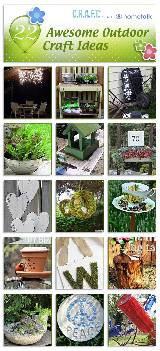 Outdoor Craft Ideas