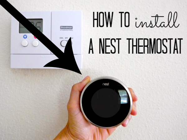 how to install a nest thermostat c r a f t. Black Bedroom Furniture Sets. Home Design Ideas