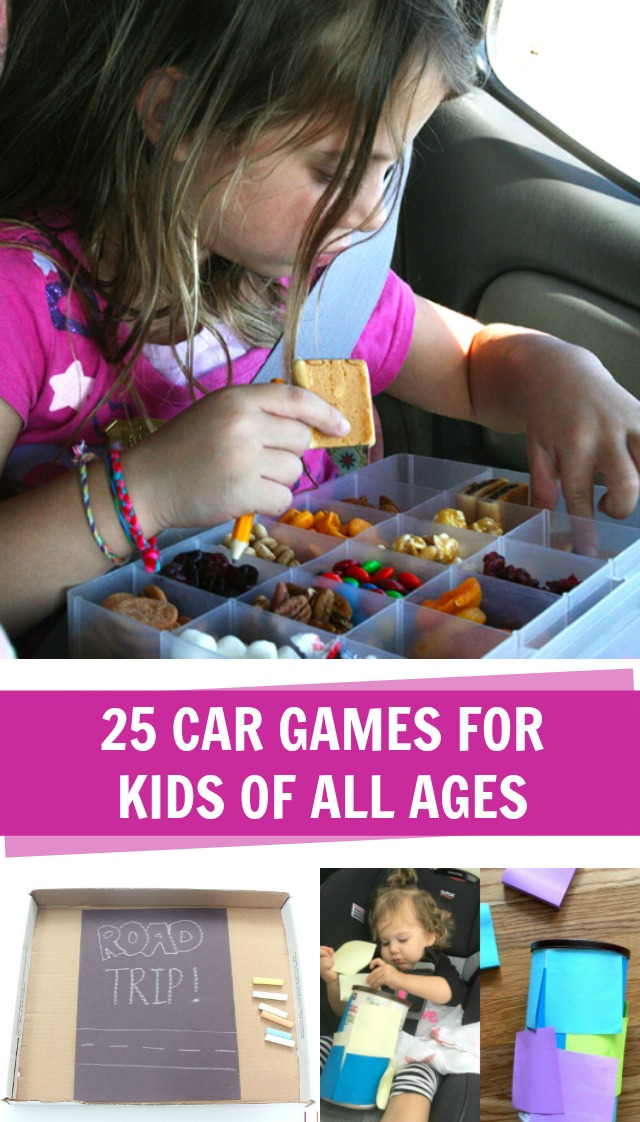 25 car games for kids of all ages