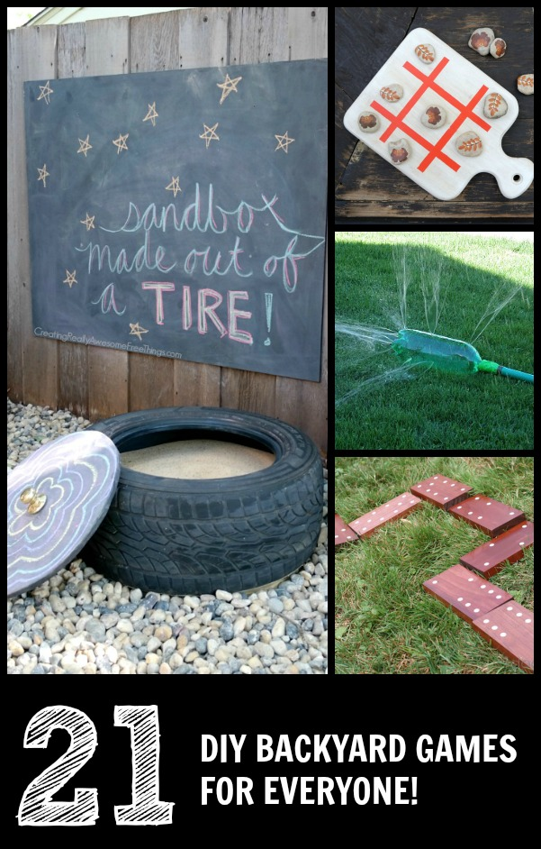 21 DIY lawn games for everyone!