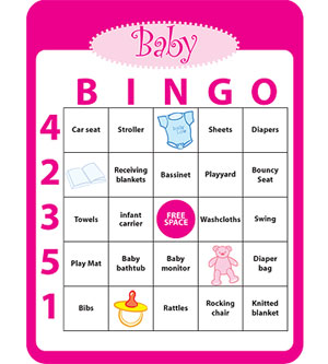 Fun baby shower games - C.R.A.F.T.