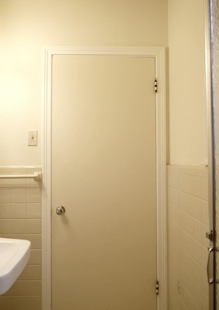 Organizing a bathroom