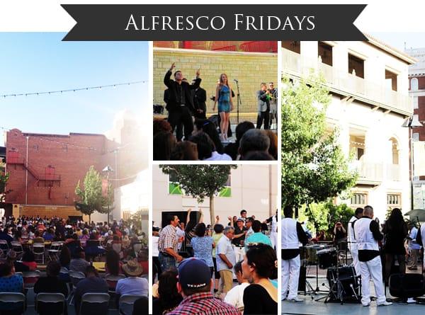 Alfresco Fridays in El Paso