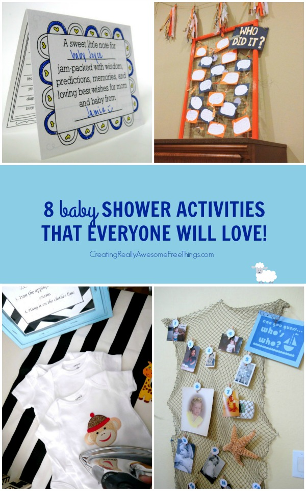 baby shower games that everyone will love