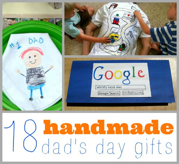 dad day collage - Homemade Christmas Gifts For Dad