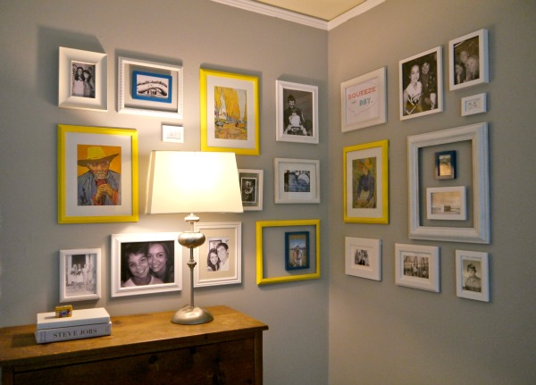 how to make an easy gallery wall