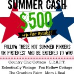 Mad dash for summer cash {$500 giveaway}