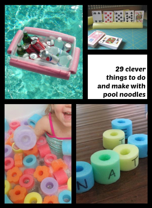 Clever things to do with a pool noodle