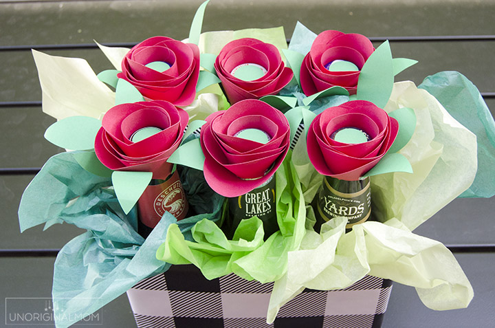 diy-beer-bouquet-Fathers day gift