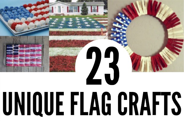 unique flag crafts