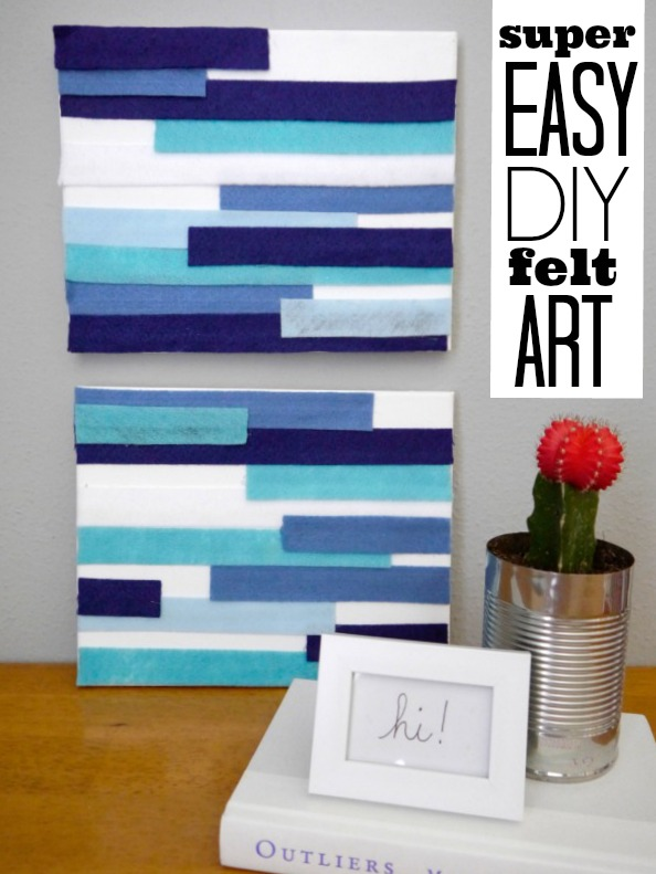 Diy wall art c r a f t for Cheap wall art ideas