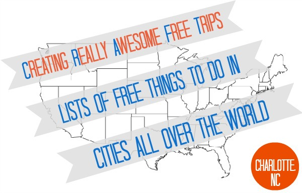 ... Tuesdays! Today, we've got fun, free things to do in Charlotte, NC
