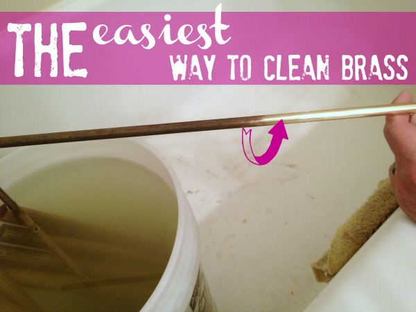 how to clean brass the easy way c r a f t. Black Bedroom Furniture Sets. Home Design Ideas