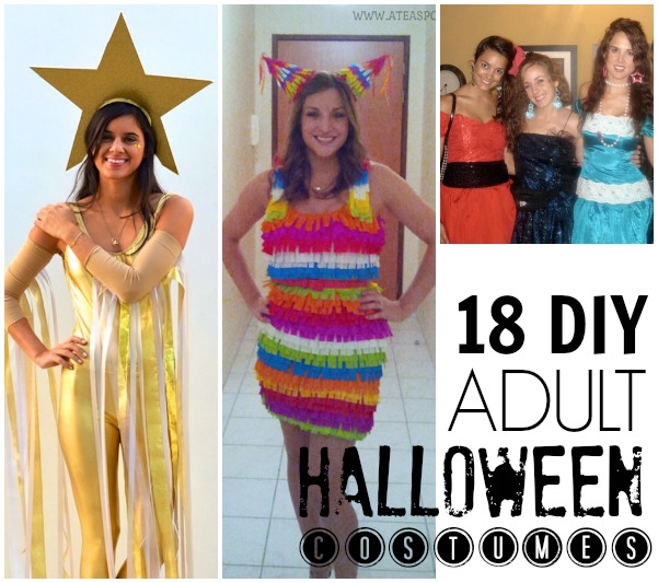 18 DIY easy adult Halloween costumes for adults