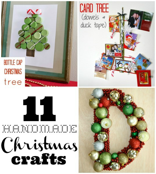 11 handmade Christmas crafts