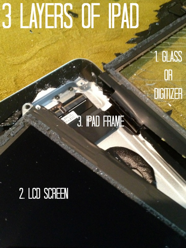 How to fix an iPad screen