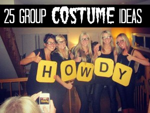 DIY group costumes