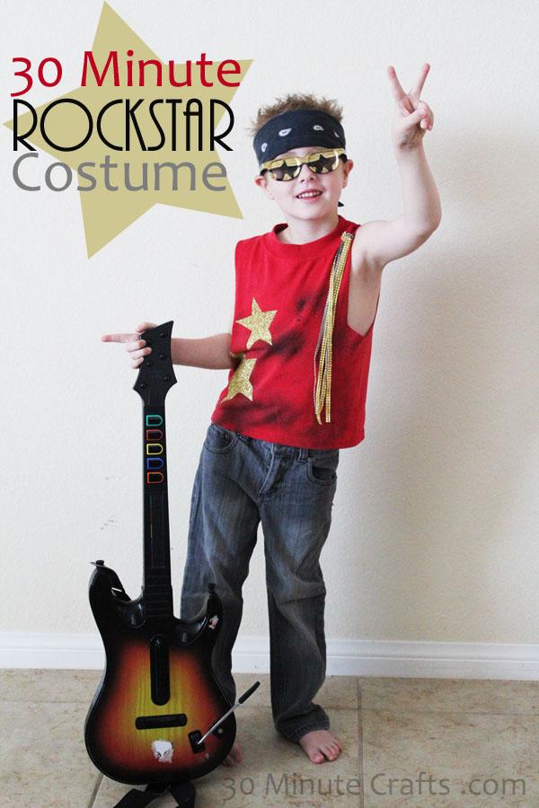 Handamde Rockstar Costume