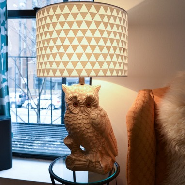 lampshade makeover