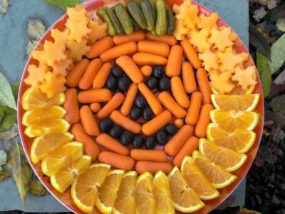 Healthy Halloween snack idea