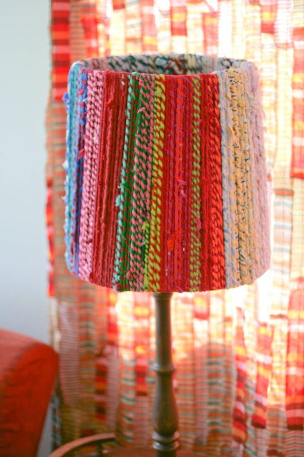 DIY rope lampshade