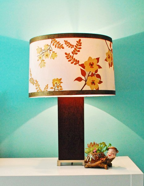 DIY lampshade makeovers