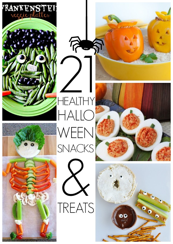 21 Healthy Halloween snack ideas
