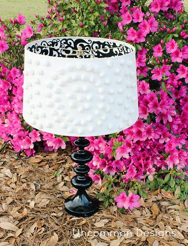 DIY lampshade makeovers