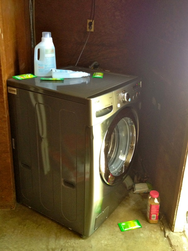 washer installation