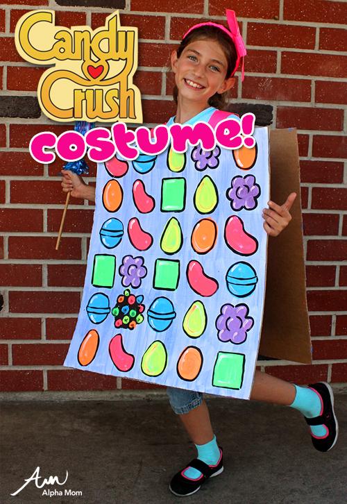 DIY Candy Crush costume