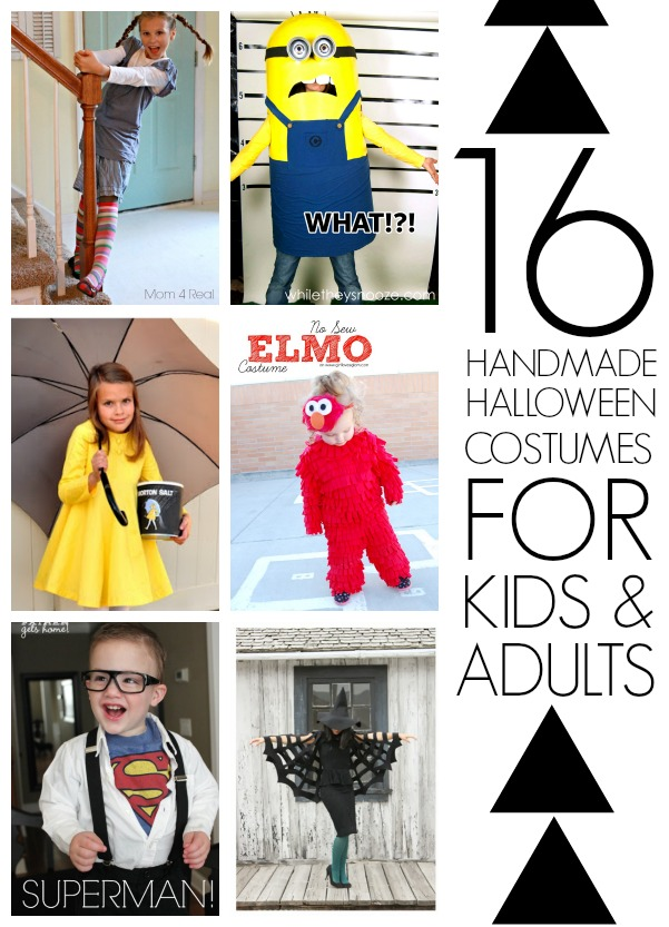 DIY Halloween costumes for kids and adults