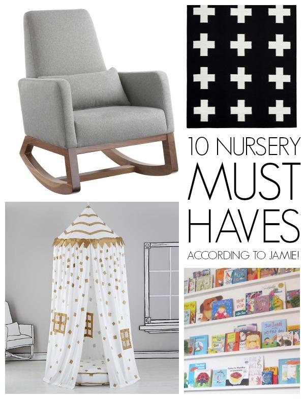 10 nursery must haves