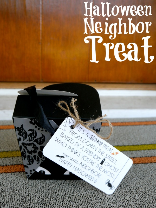 Easy Halloween neighbor gift