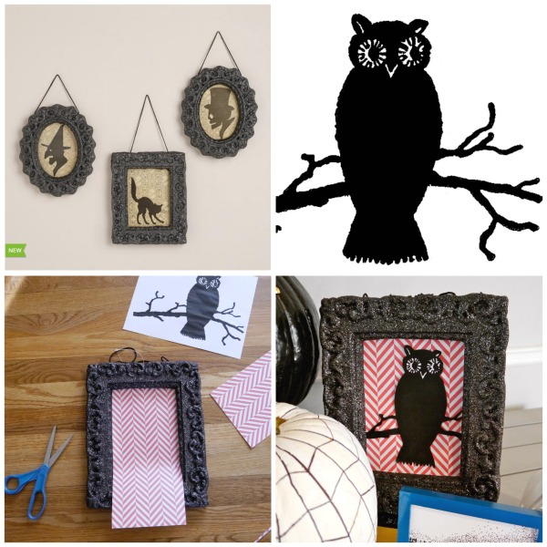 Owl theme Halloween decotrations