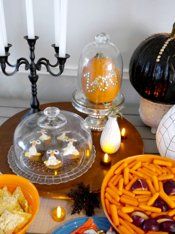 Halloween party decor from World Market