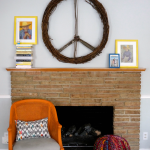 CB2 Inspired peace wreath