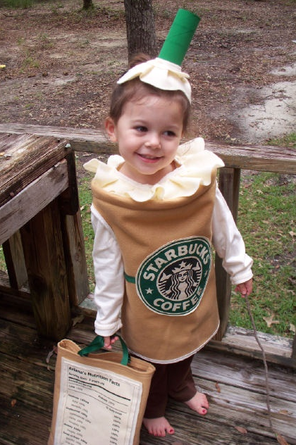 Kids Starbucks Halloween Costume