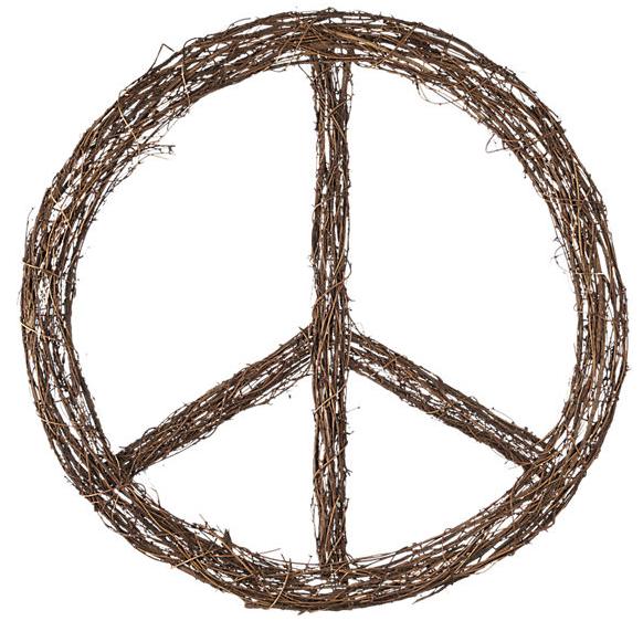 Inner peace wreath CB2
