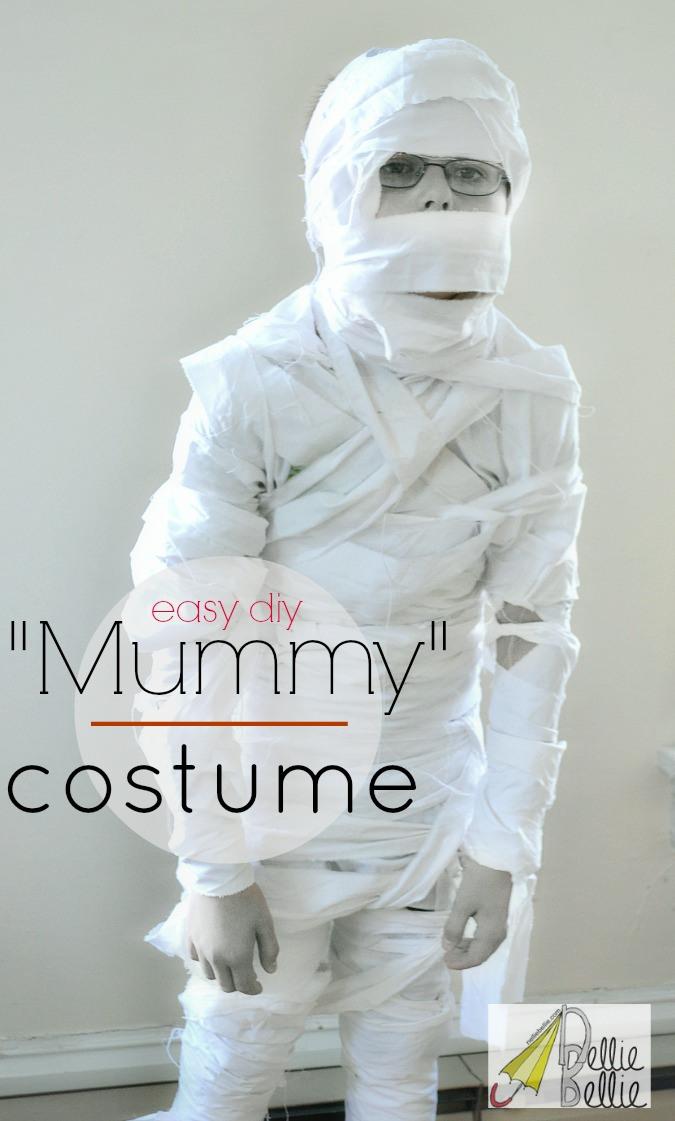 Handmade mummy costume