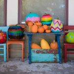no carve painted pumpkins