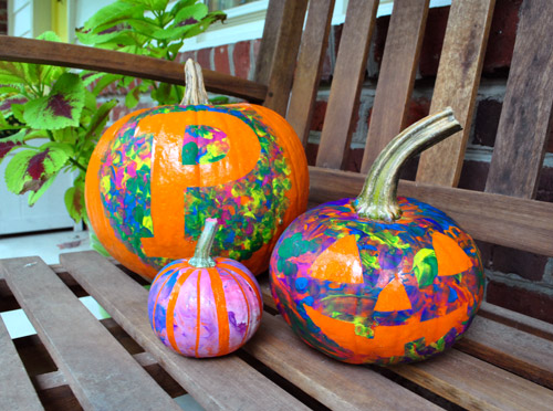 Unique pumpkin ideas c r a f t Easy pumpkin painting patterns