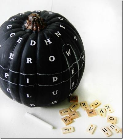 Unique pumpkin decoarting ideas