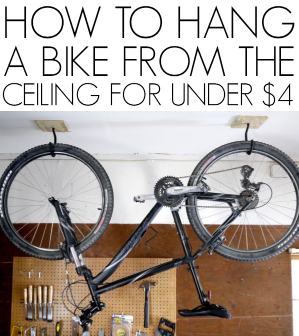 How To Hang A Bike From The Ceiling