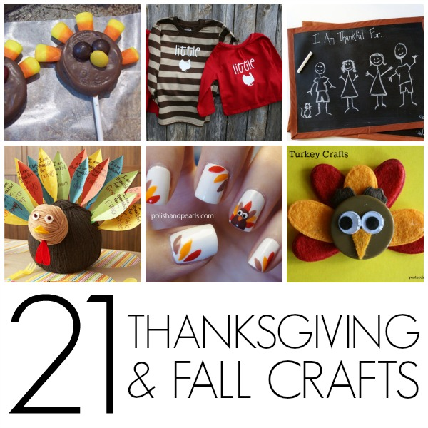 21 Thanksgiving crafts