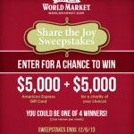 Share the Joy {World Market}