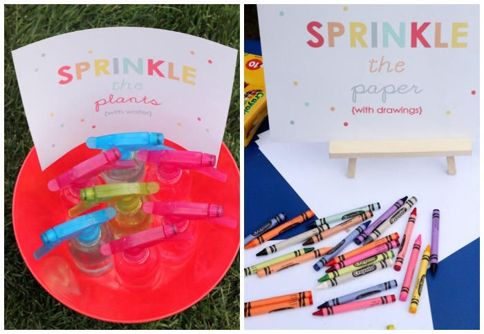 Baby sprinkle party