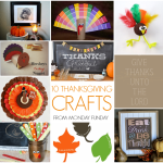 Monday Funday #43 {Thanksgiving crafts}